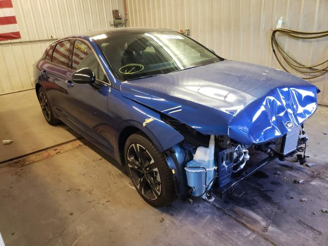 Salvage cars for sale from Copart Avon, MN: 2021 KIA K5 GT Line