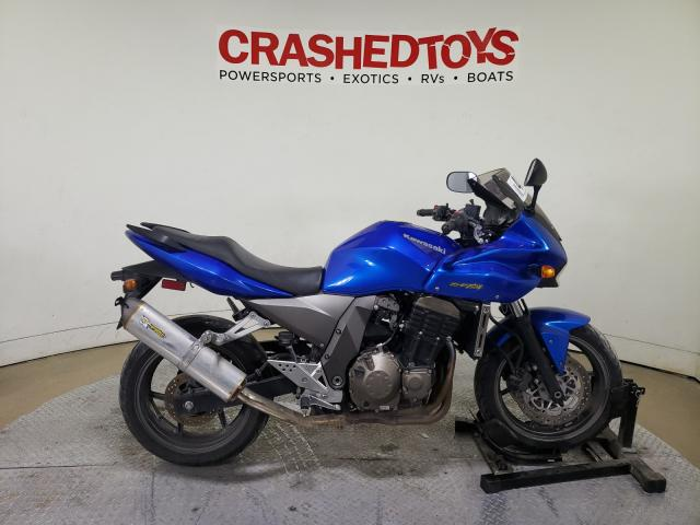 Salvage cars for sale from Copart Dallas, TX: 2005 Kawasaki ZR750 K1