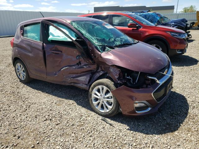 Vehiculos salvage en venta de Copart Bismarck, ND: 2020 Chevrolet Spark 1LT
