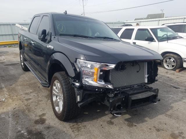 Salvage cars for sale from Copart Dyer, IN: 2020 Ford F150 Super