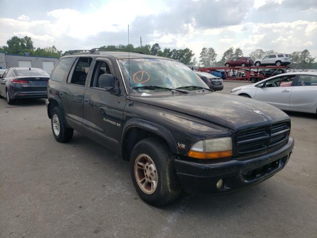 Vehiculos salvage en venta de Copart Dunn, NC: 2000 Dodge Durango
