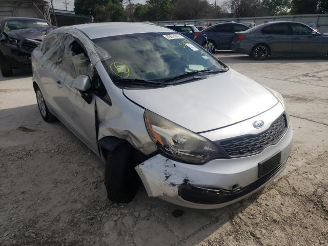 Salvage cars for sale from Copart Corpus Christi, TX: 2012 KIA Rio LX
