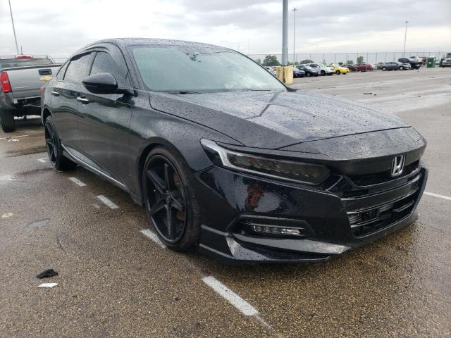 Salvage cars for sale from Copart Moraine, OH: 2019 Honda Accord TOU