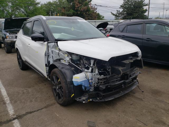 Salvage cars for sale from Copart Moraine, OH: 2020 Nissan Kicks SR