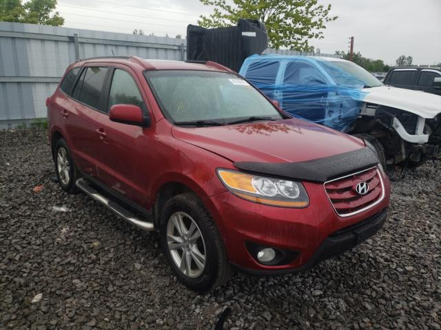 Salvage cars for sale from Copart Bowmanville, ON: 2010 Hyundai Santa FE G