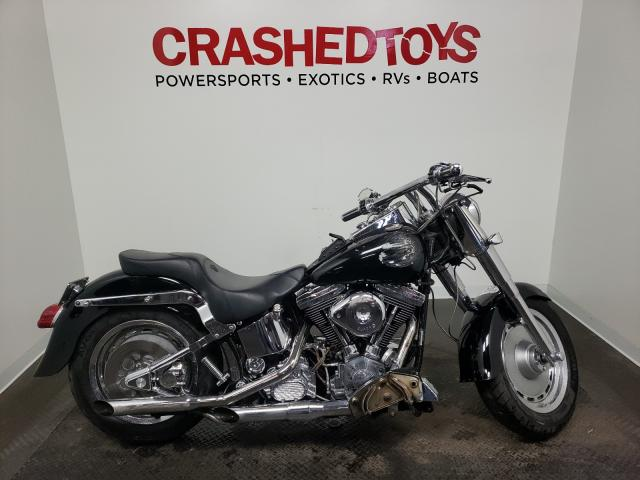 Salvage cars for sale from Copart Ham Lake, MN: 1995 Harley-Davidson Flstf