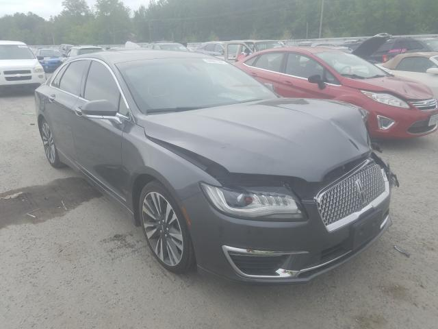 Lincoln salvage cars for sale: 2017 Lincoln MKZ Reserv