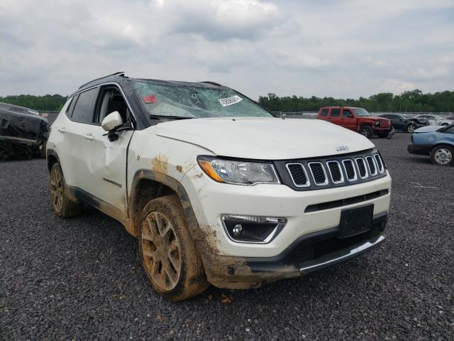 Salvage cars for sale from Copart Fredericksburg, VA: 2017 Jeep Compass LI