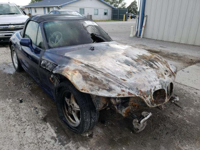 Salvage cars for sale from Copart Sikeston, MO: 1998 BMW Z3 1.9