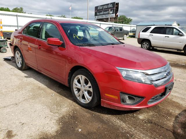 Salvage cars for sale from Copart Wichita, KS: 2012 Ford Fusion SE