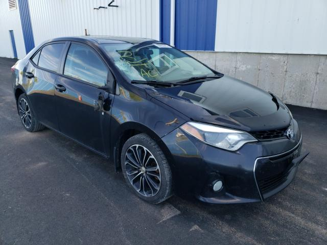 Salvage cars for sale from Copart Atlantic Canada Auction, NB: 2014 Toyota Corolla L