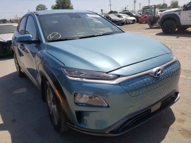 Vehiculos salvage en venta de Copart Los Angeles, CA: 2019 Hyundai Kona Limited