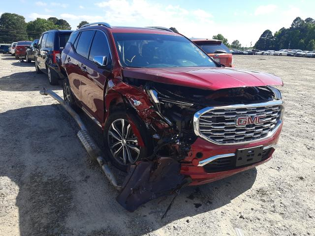 Salvage cars for sale from Copart Conway, AR: 2020 GMC Terrain DE