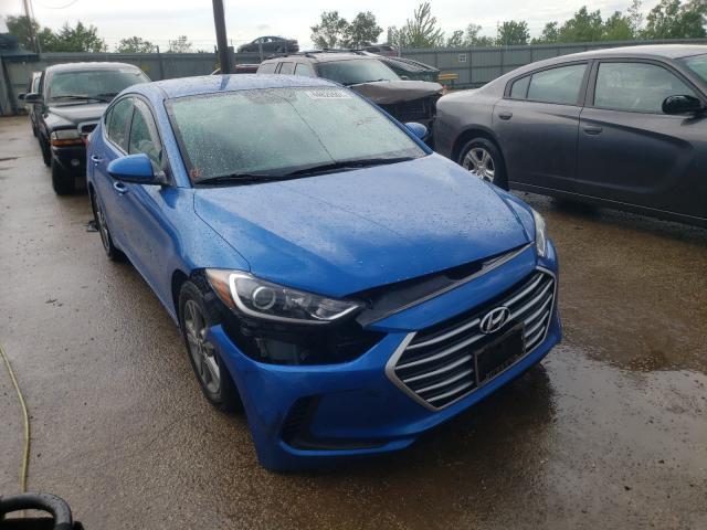 Salvage cars for sale from Copart Pekin, IL: 2017 Hyundai Elantra SE