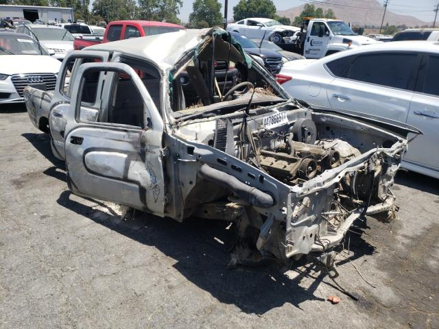 Salvage cars for sale at Colton, CA auction: 2003 Toyota Tacoma DOU