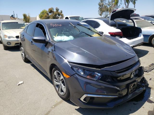 Vehiculos salvage en venta de Copart Martinez, CA: 2019 Honda Civic LX