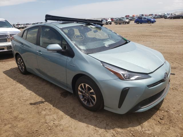 Salvage cars for sale from Copart Amarillo, TX: 2021 Toyota Prius Special