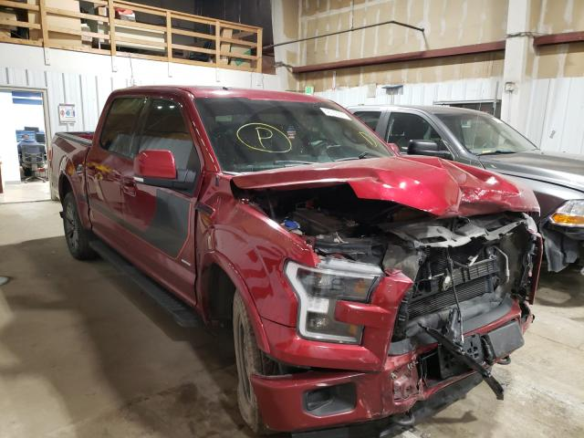Salvage cars for sale from Copart Anchorage, AK: 2016 Ford F150 Super