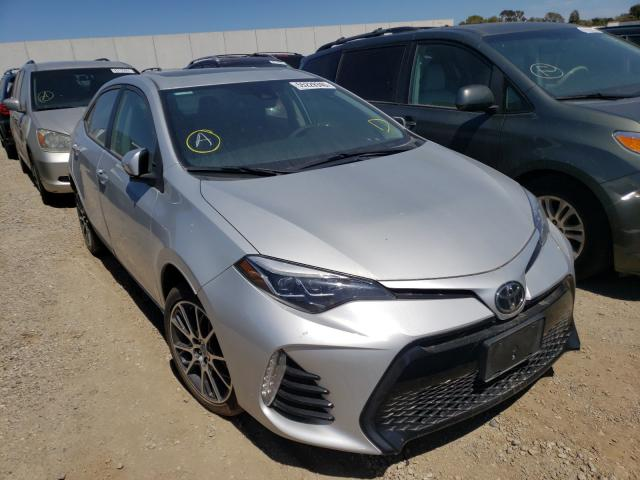Salvage cars for sale from Copart Hayward, CA: 2017 Toyota Corolla L