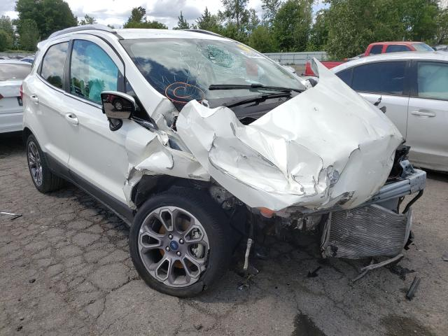Salvage cars for sale from Copart Portland, OR: 2020 Ford Ecosport T