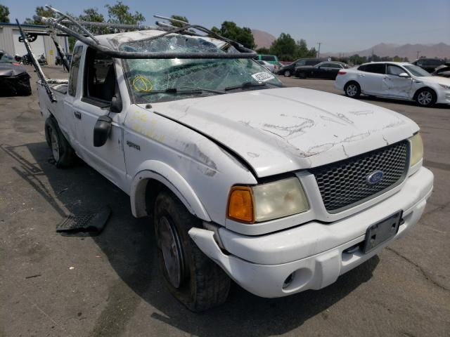Salvage cars for sale from Copart Colton, CA: 2002 Ford Ranger SUP