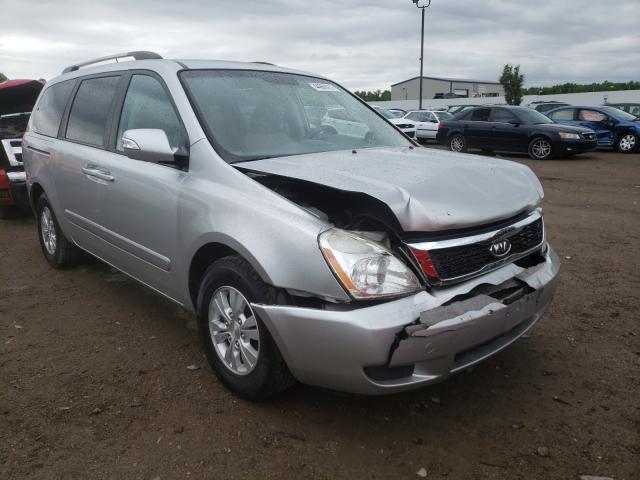 Vehiculos salvage en venta de Copart Louisville, KY: 2012 KIA Sedona LX