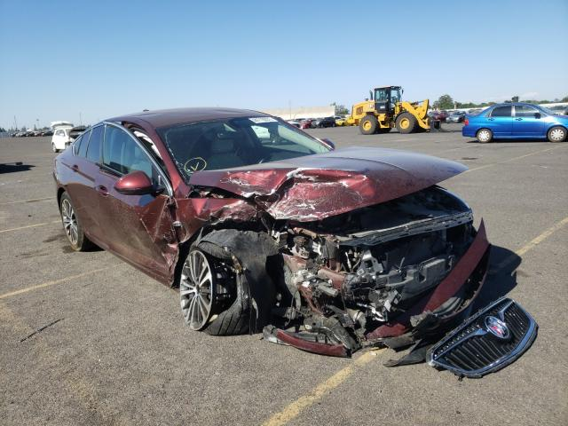 Salvage cars for sale from Copart Sacramento, CA: 2018 Buick Regal Pref
