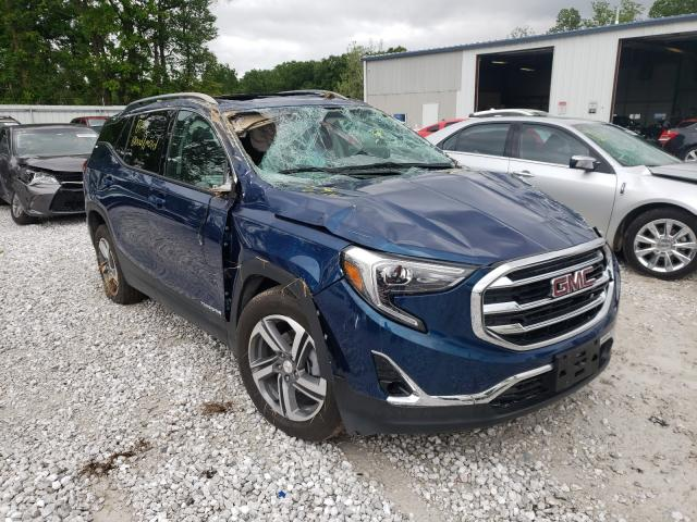 Salvage cars for sale from Copart Rogersville, MO: 2020 GMC Terrain SL
