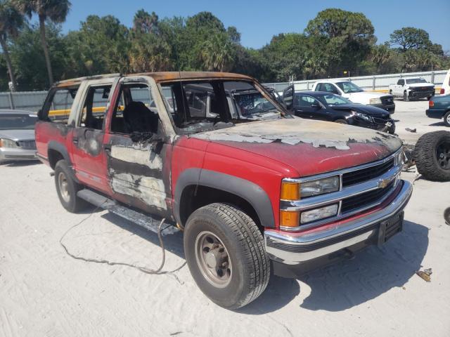 Burn Engine Cars for sale at auction: 1999 Chevrolet Suburban K