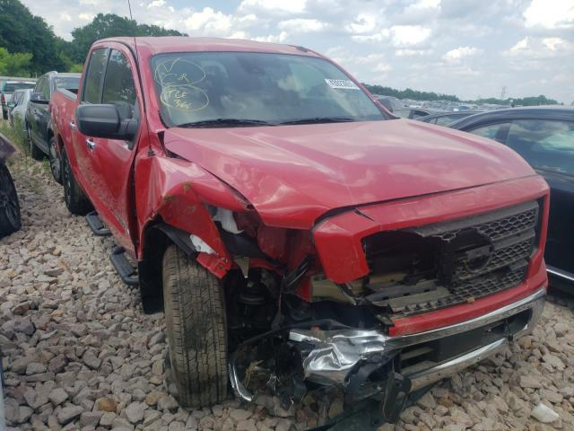 Salvage cars for sale from Copart China Grove, NC: 2021 Nissan Titan SV