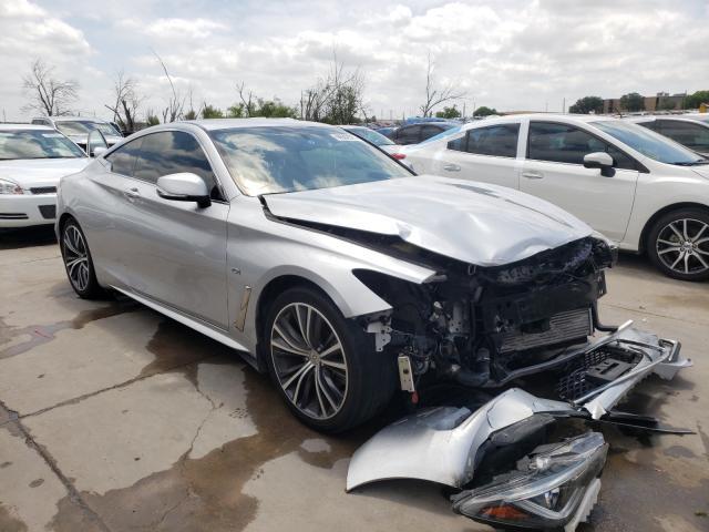Infiniti Q60 Pure salvage cars for sale: 2018 Infiniti Q60 Pure