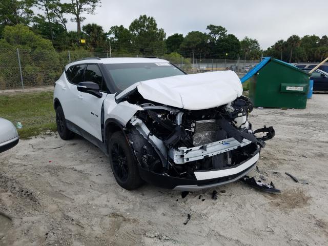 Salvage cars for sale from Copart Fort Pierce, FL: 2020 Chevrolet Blazer 3LT