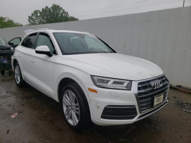 Salvage cars for sale from Copart Columbia Station, OH: 2020 Audi Q5 Premium