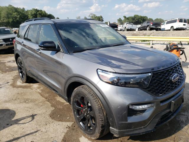 Salvage cars for sale from Copart Riverview, FL: 2021 Ford Explorer S