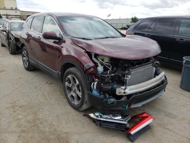 2019 Honda CR-V EXL en venta en Tulsa, OK