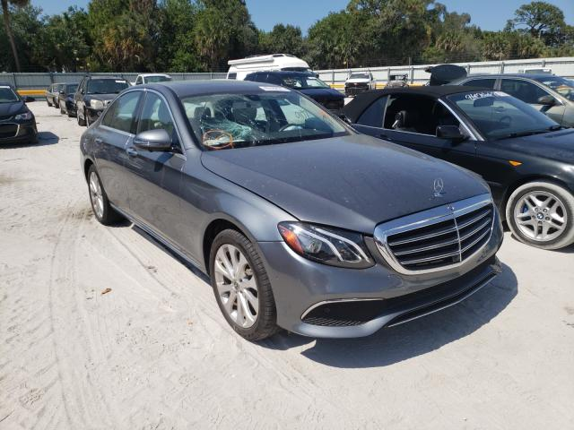 Salvage cars for sale from Copart Fort Pierce, FL: 2019 Mercedes-Benz E 300