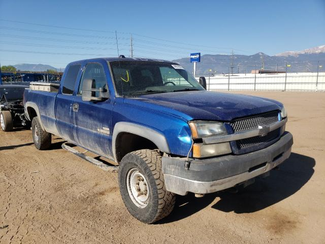 Salvage cars for sale from Copart Colorado Springs, CO: 2004 Chevrolet Silverado
