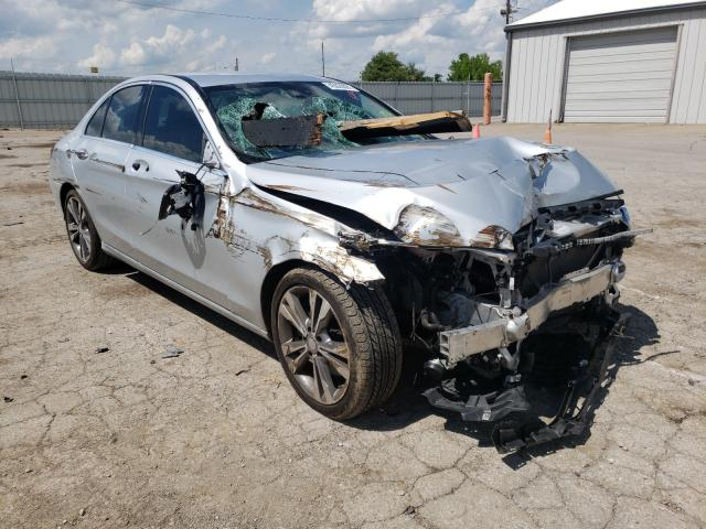 Salvage 2016 MERCEDES-BENZ C-CLASS - Small image. Lot 45020081