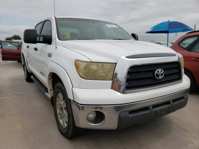 Salvage cars for sale from Copart Grand Prairie, TX: 2008 Toyota Tundra CRE