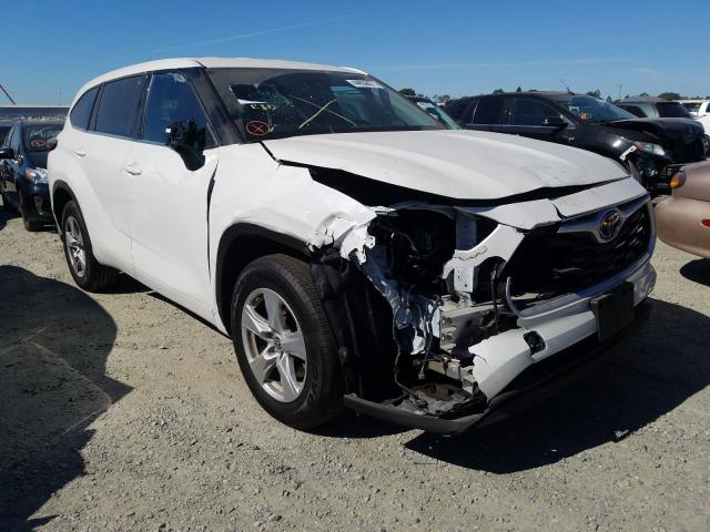 Salvage cars for sale from Copart Antelope, CA: 2021 Toyota Highlander