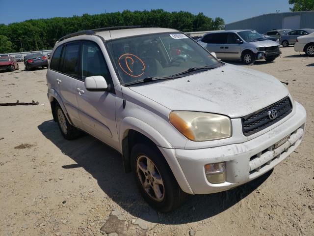 Salvage cars for sale from Copart Hampton, VA: 2002 Toyota Rav4