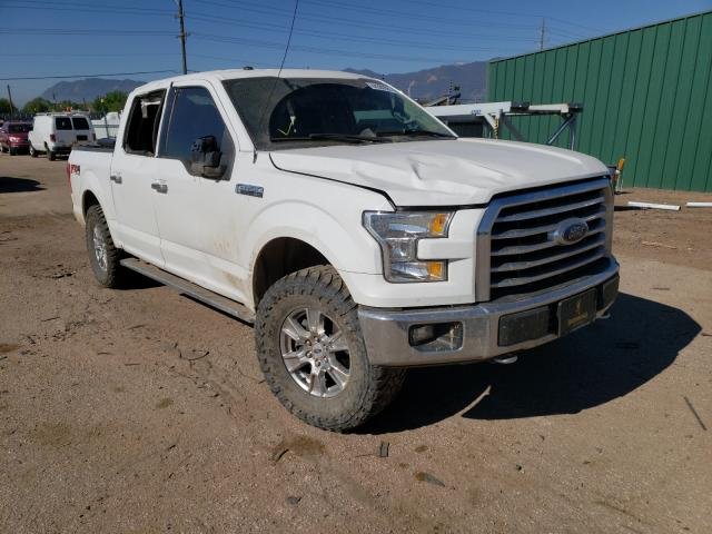 Salvage cars for sale from Copart Colorado Springs, CO: 2016 Ford F150 Super