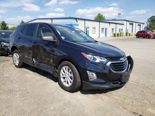 Salvage cars for sale from Copart Finksburg, MD: 2020 Chevrolet Equinox LS