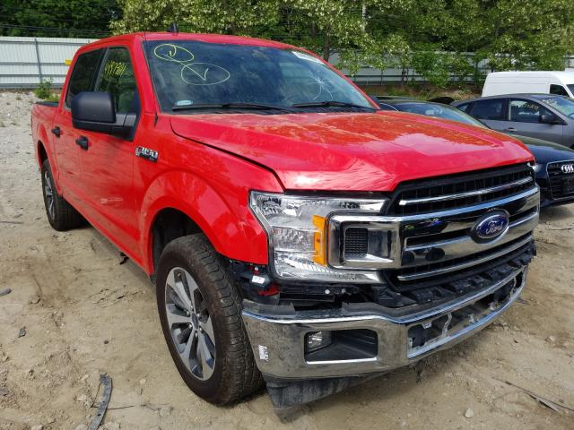 Salvage cars for sale from Copart North Billerica, MA: 2020 Ford F150 Super