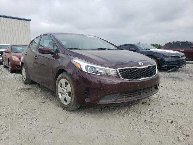 Salvage cars for sale from Copart Byron, GA: 2018 KIA Forte LX