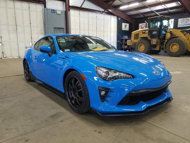 Salvage cars for sale from Copart East Granby, CT: 2019 Toyota 86 GT