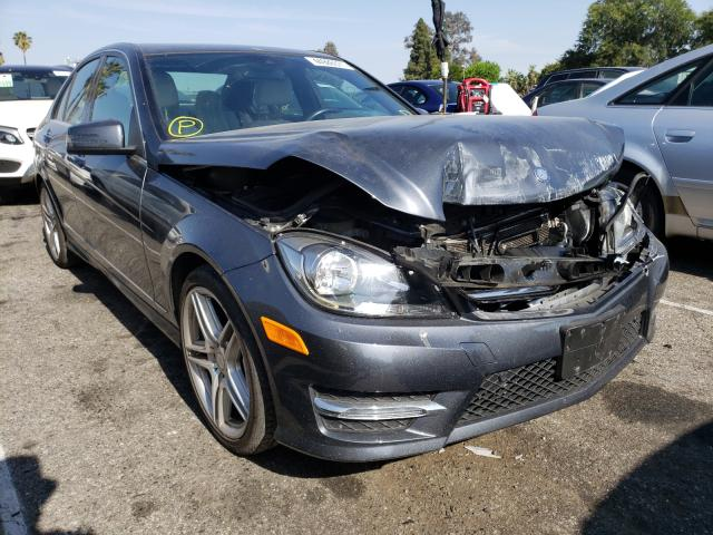 Salvage cars for sale from Copart Van Nuys, CA: 2014 Mercedes-Benz C 250
