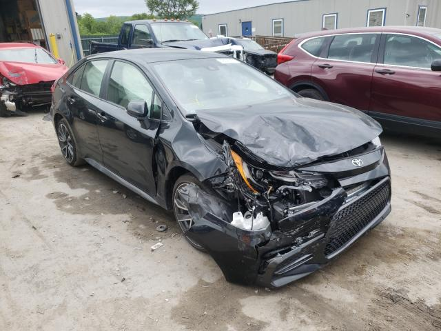 Salvage cars for sale from Copart Duryea, PA: 2020 Toyota Corolla SE