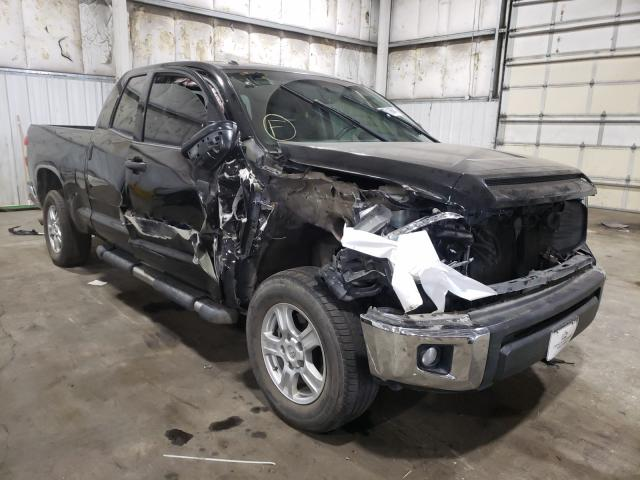 Salvage cars for sale from Copart Woodburn, OR: 2014 Toyota Tundra DOU