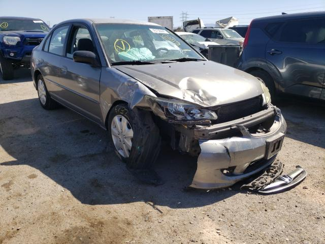 Salvage cars for sale from Copart Tucson, AZ: 2004 Honda Civic LX